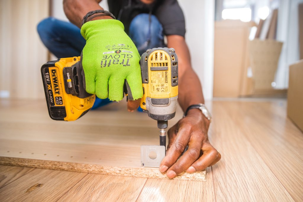 woodwork drilling