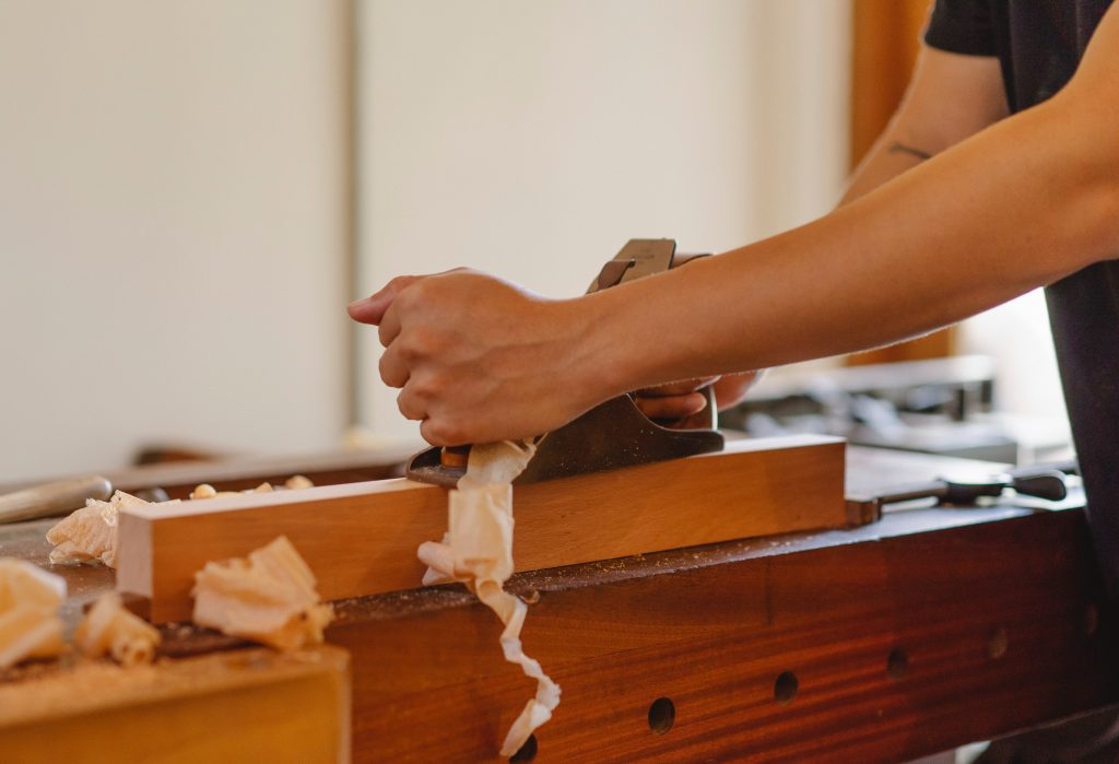 woodwork planing
